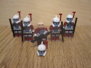 Star Wars LEGO LOT/Army 5 ARC Elite Clone Troopers 9488