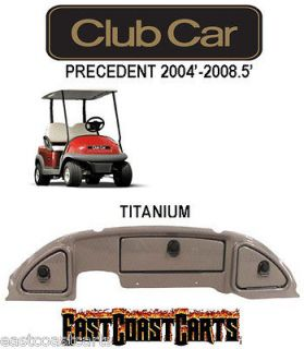 Club Car Precedent Golf Cart Dash Cover 2004 2008.5 TITANIUM
