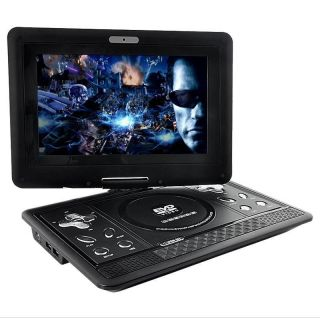 270 degrees Swivel Screen 10 Inch Portable Multimedia DVD Player