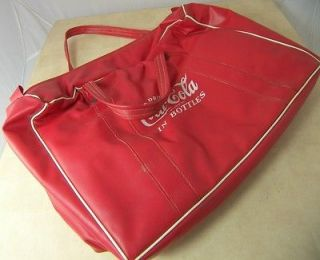COCA COLA 1950s PLASTIC COOLER BOTTLE CARRIER COKE