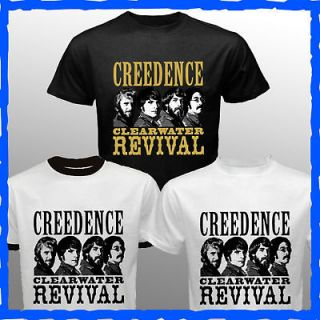 Creedence Clearwater Revival t shirt vtg tour ccr the beatles who pink