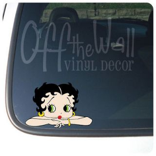 Betty Boop Car/Truck Laptop Vinyl Decal Sticker
