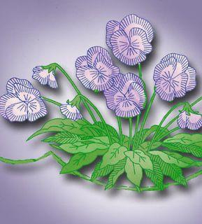 Alice Brooks Floral Pillowcase Transfer Crochet Edging ORIGINAL