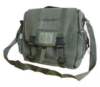 Army Combat Canvas Messenger Satchel A4 Retro Shoulder Sports Bag