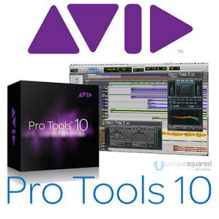 Pro Tools 10 (Full Version Boxed) Audio Recording Software for Mac/PC