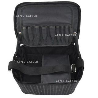 Beauty Make up Nail Art Tech Beautician Black Case Bag & Gift #339