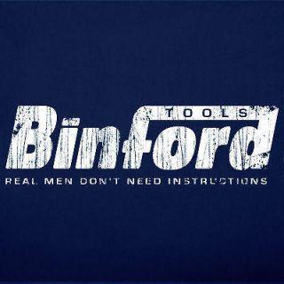 BINFORD TOOLS home improvement vintage funny T Shirt 2X