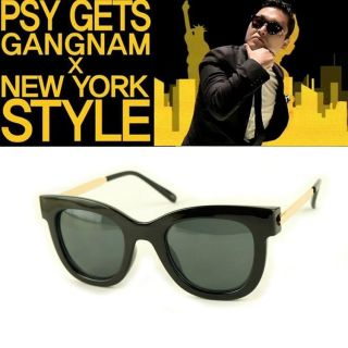 psy gets Sunglasses NEW Cool star plate&metal frames UV400 eyewear