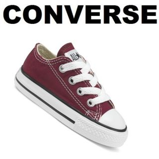 red kids converse shoes