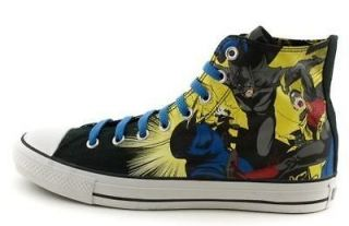 New CONVERSE All Star Batman & Robin HI athletic shoe Mens/Womens