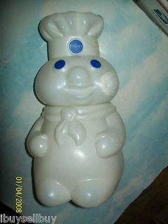 PILLSBURY DOUGH BOY COOKIE JAR TOY COOKING SET L@@@@@K COMPLETE
