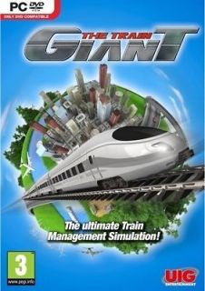 THE TRAIN GIANT   A TRAIN 9 TRAIN MANAGEMENT SIMULATOR   NEW SEALED