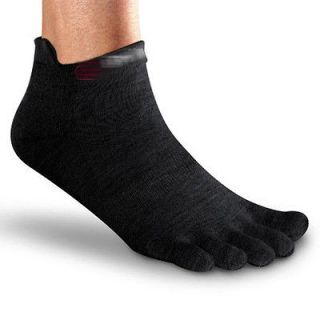 of NO SHOW Toe Socks five 5fingers 5 fingers SOCK M   BLACK   COOLMAX