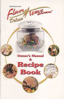 Flavor Wave Oven Owners Manual on CD ROM PDF Thane