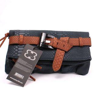 Korean Fashion BB365 New Snake clutch shoulder Bag WOMENS HANDBAG 1358