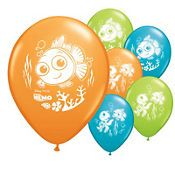Finding Nemo Birthday Party Balloons 2012 Coral Reef