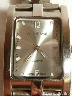 Preowned Silvertone Watch by Cote dAzur