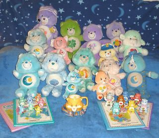 Care Bears Plush Grams posable PVC Cousins Grumpy some NWT 1983 04