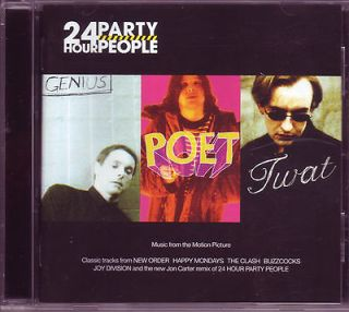 24 Hour Party People soundtrack CD Sex Pistols, Joy Division, New