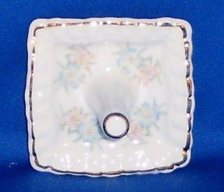 Fine Bone China Ring Holder Crown Staffordshire England