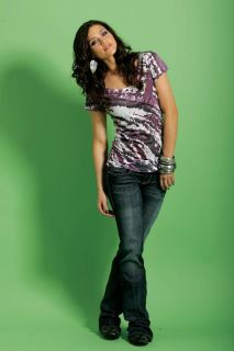 Cruel Girl Jeans Short Sleeve Tee T Shirt Purple Tie Dye NEW S M L XL