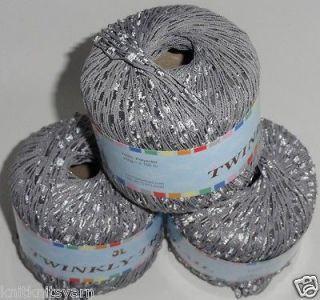 Newly listed Lot of 4 balls TWINKLY TRAIL ladder trellis yarn mix4