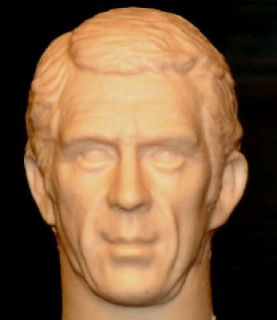 12 1/6 CUSTOM STEVE McQUEEN FIGURE HEAD!