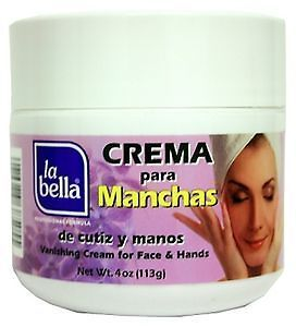 LA BELLA CREMA PARA MANCHAS VANISH CREAM   4 OZ
