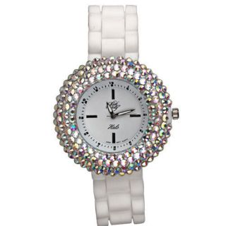 NEW KIRKS FOLLY FAIRY HALO SPARKLE WATCH CRYSTAL ICE