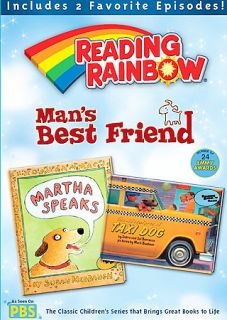 DVD Reading Rainbow Mans Best Friend Martha Speaks Dog PBS Kids