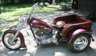 Harley Davidso n  Other Harley Davidson Motorcycle Woody Custom Trike