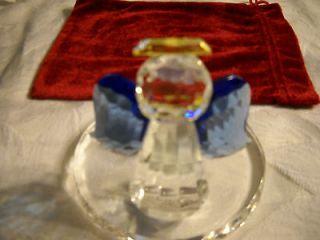 PARTY LITE SPARKLE LITE CRYSTAL ANGEL  TEA LITE CANDLE HOLDER