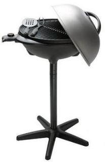 George Foreman GGR50B Indoor/Outdoor Grill Black Lean Mean Electric
