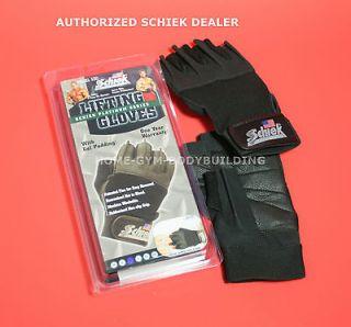 NEW Schiek Gel Padded Glove Model 530 Platinum Series Lifting Gloves