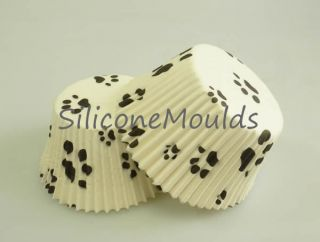 PAW PRINT DOG CAT STD Muffin Cup Cake Cupcake Pan Paper Cases Liners