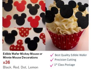 mickey mouse cupcake stand