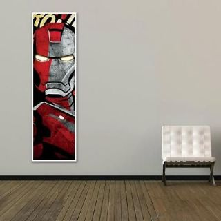 IRON MAN METAL LOOK 12x40 INCHES COLOURFULL TALL POSTER