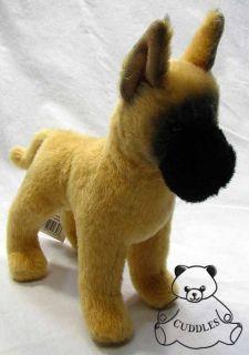 Dane Dog Douglas Cuddle Plush Toy Stuffed Animal Dain Realistic BNWT