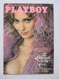 Play Boy Cover Cards PMOY Cyndi Wood