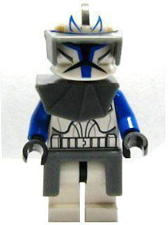 LEGO Captain Rex (Clone Wars)   Star Wars Minifigure 2 in Minifigure