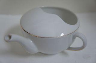 RARE Czechoslovakia Victoria China Porcelain Invalid Feeder / Baby
