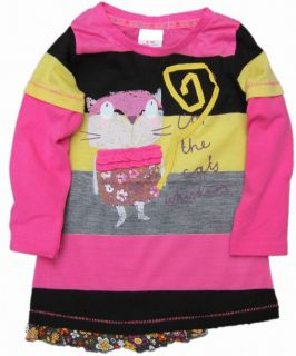 GIRLS IM THE CATS WHISKERS TUNIC TOP 18 24,2 3,3 4,4 5,5 6 NEXT DAY