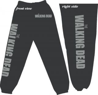 The WALKING DEAD   Zombie   Sweatpants   Adult & Youth Fleece Pants