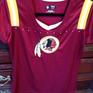 NFL Redskins Shirt Team Apparel Womens Large