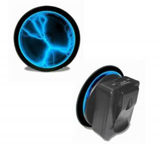 USA Seller*** Pocket Plasma Blue Lightning Electric Belt Buckle