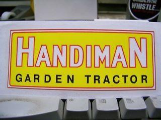 DAVID BRADLEY  HANDIMAN RT GARDEN TRACTOR