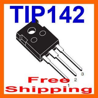 10 x TIP142 TRANSISTOR NPN DARLINGTON 100V 10A