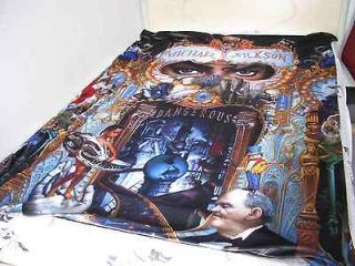 Michael Jackson Dangerous Classic Bed blanket sheet & bed pillow cover
