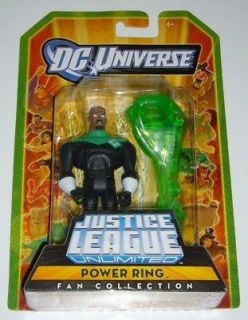 DC Comics POWER RING Anti matter Evil Green Lantern Action Figure JLA