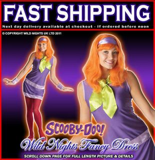FANCY DRESS COSTUME ~ SCOOBY DOO DAPHNE SMALL 8 10